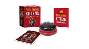 Exploding Kittens: Talking Button (Miniature Edition) by Exploding Kittens LLC, 9780762495542