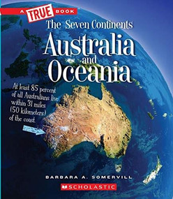 Australia and Oceania (A True Book: The Seven Continents) (Library Edition) - 9780531128077 by Barbara A. Somervill, 9780531128077