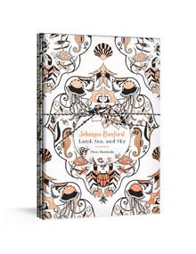 Johanna Basford Land, Sea, and Sky (Three Colorable Notebooks) by Johanna Basford, 9781984826190