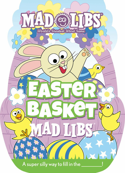 Easter Basket Mad Libs by Gabrielle Reyes, 9780593093962