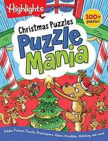 Christmas Puzzles by Highlights, 9781629798301