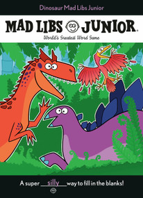 Dinosaur Mad Libs Junior by Elizabeth Hara, 9780593093955