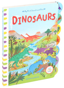 My First Search and Find: Dinosaurs by Editors of Silver Dolphin Books, Neiko Ng, 9781684125975