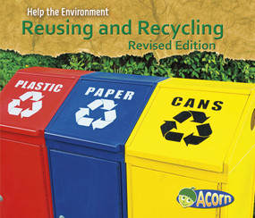 Reusing and Recycling by Charlotte Guillain, 9781484635667