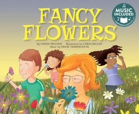 Fancy Flowers by Nadia Higgins, Chris Biggin, 9781684101092