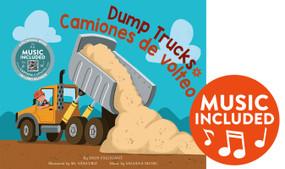 Dump Trucks / Camiones de volteo by Erin Falligant, Sr. Sanchez, Salsana Salsana Music, 9781684103386