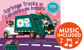 Garbage Trucks / Camiones de basura by Nadia Higgins, Sr. Sanchez, Mark Oblinger, 9781684103409
