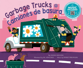 Garbage Trucks / Camiones de basura - 9781684103768 by Nadia Higgins, Sr. Sanchez, Mark Oblinger, 9781684103768
