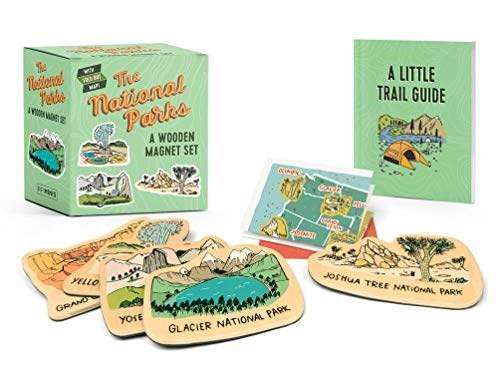 The National Parks: A Wooden Magnet Set (Miniature Edition) by Matt Garczynski, Brainstorm, 9780762469000
