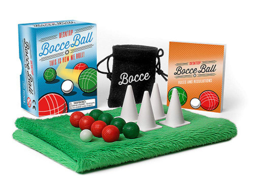 Desktop Bocce Ball (This Is How We Roll!) (Miniature Edition) by Conor Riordan, 9780762469444