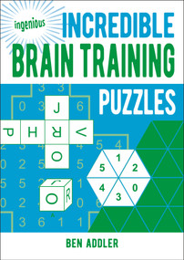 Incredible Brain Training Puzzles by Ben Addler, 9781789507294