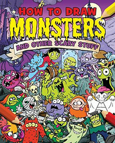 How to Draw Monsters and Other Scary Stuff - 9781789509571 by Paul Gamble, Paul Gamble, 9781789509571