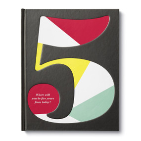 Five: Where will you be five years from today? by Kobi Yamada and Dan Zadra, 9781946873552