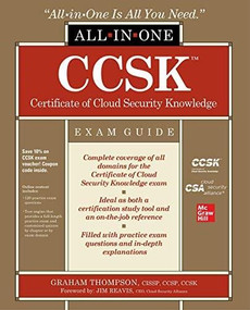 CCSK Certificate of Cloud Security Knowledge All-in-One Exam Guide by Graham Thompson, 9781260460087