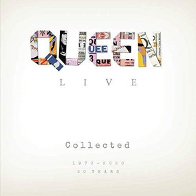 Queen Live Collected (1970-2020) by Alison James, 9781912332557