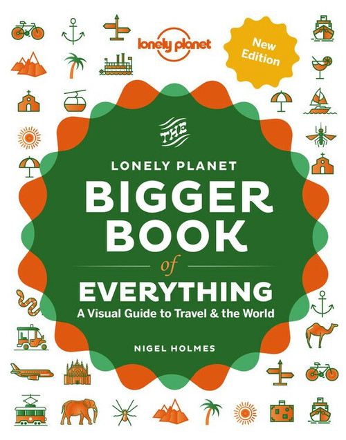 The Bigger Book of Everything (Miniature Edition) by Lonely Planet, Lonely Planet, Nigel Holmes, 9781838690410