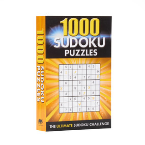 1000 Sudoku Puzzles (The Ultimate Sudoku Challenge) by Eric Saunders, 9781838577155