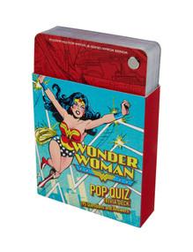 DC Comics: Wonder Woman Pop Quiz Trivia Deck (Miniature Edition) by Darcy Reed, 9781683837367