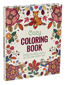 Cozy Coloring Book by Editors of Thunder Bay Press, 9781645171263