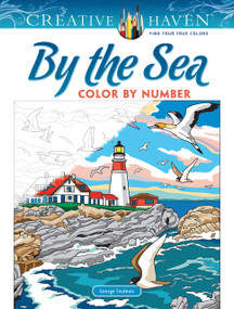 Creative Haven By the Sea Color by Number by George Toufexis, 9780486840468