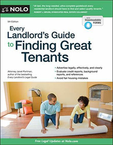 Every Landlord's Guide to Finding Great Tenants - 9781413327526 by Janet Portman, 9781413327526