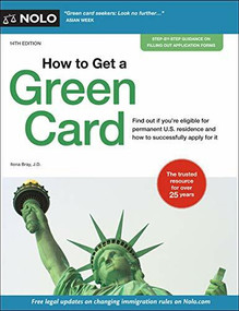 How to Get a Green Card - 9781413327441 by Ilona Bray, 9781413327441