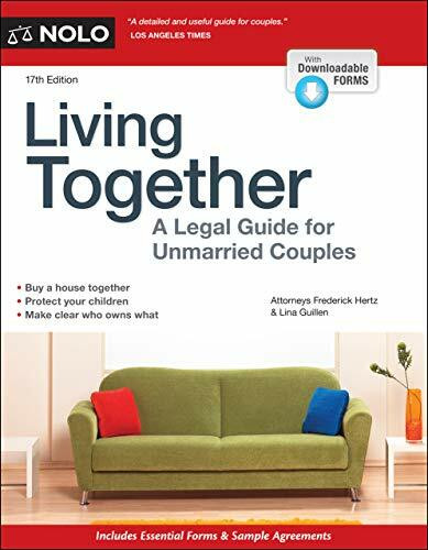 Living Together (A Legal Guide for Unmarried Couples) - 9781413327465 by Frederick Hertz, Lina Guillen, 9781413327465