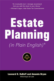 Estate Planning (in Plain English) by Leonard D. DuBoff, Amanda Bryan, 9781621537267