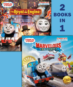 Marvelous Machinery/The Royal Engine (Thomas & Friends) by Christy Webster, Random House, 9780593127636
