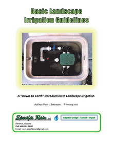 Basic Landscape Irrigation Guidelines by Vern Swanson, 9781733403306