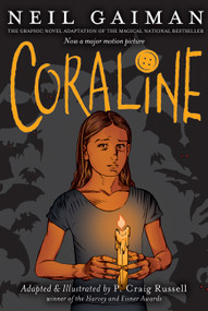 Coraline Graphic Novel - 9780060825454 by Neil Gaiman, P. Craig Russell, 9780060825454