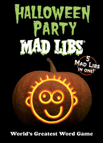 Halloween Party Mad Libs by Mad Libs, 9780593096437