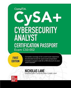 CompTIA CySA+ Cybersecurity Analyst Certification Passport (Exam CS0-002) by Bobby E. Rogers, 9781260462265