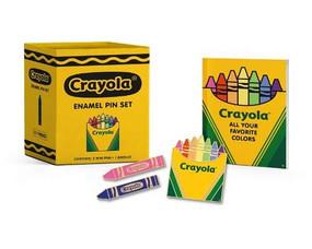 Crayola Enamel Pin Set (Miniature Edition) by Crayola LLC, 9780762470532