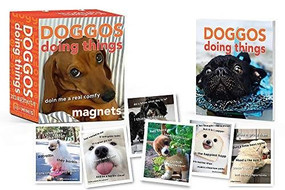 Doggos Doing Things Magnets (Miniature Edition) by Doing Things Media, 9780762472093