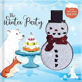The Winter Party (With 2-Way Sequins!) by Kim Thompson, Vanessa Forte, 9782898022449