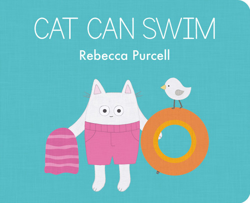 Cat Can Swim by Rebecca Purcell, 9781800360044