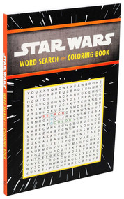 Star Wars: Word Search and Coloring Book by Editors of Thunder Bay Press, 9781645174073