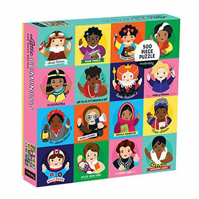 Little Feminist 500 Piece Family Puzzle by Galison, Lydia Ortiz, 9780735353824