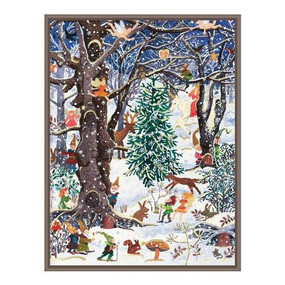 Advent Forest Large Embellished by Galison, 9780735354623