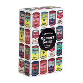 Andy Warhol Memory Game by Galison, Andy Warhol, 9780735355538