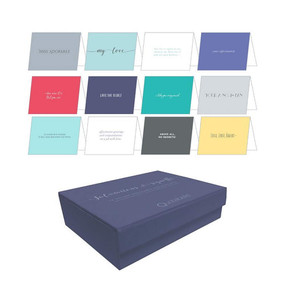 Salutations & Signoffs Notecards (12 Deluxe Notecards & Envelopes) by Quotabelle, Pauline Weger, Alicia Williamson, 9780762471539