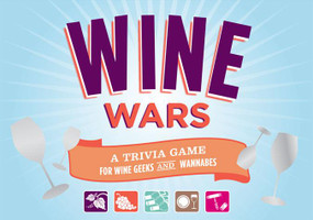Wine Wars (Game for Adults, Trivia Games, Wine Gifts) (A Trivia Game for Wine Geeks and Wannabes (Gifts for Wine Lovers, Wine Lovers Gifts, Wine Gifts)) by Joyce Lock, 9780811868341