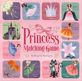 Princess Matching Game by Brigette Barrager, 9780811876971