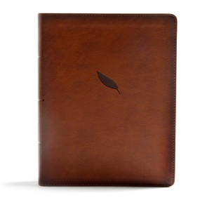 CSB Legacy Notetaking Bible, Tan LeatherTouch by CSB Bibles by Holman, 9781535948692