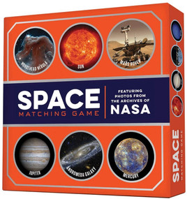 Space Matching Game (Featuring Photos from the Archives of NASA) by Chronicle Books, 9781452133904