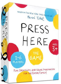 Press Here Game ((Games for Kindergartners, Games for Toddlers, Creative Play for Kids)) by Herve Tullet, 9781452137360