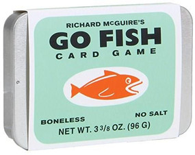 Richard McGuire's Go Fish Card Game (Miniature Edition) by Richard McGuire, 9781452146553