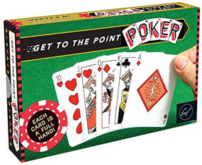 Get to the Point Poker by Forrest-Pruzan Creative, 9781452149493