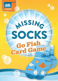 Missing Socks Go Fish Card Game (Miniature Edition) by Chronicle Books, Nick Lu, 9781452150307